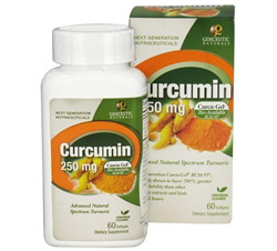Curcumin Advanced Bio-Available Form with BCM-95 250 mg.