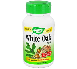White Oak Bark 480 mg.