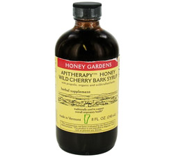 Honey Wild Cherry Bark Syrup