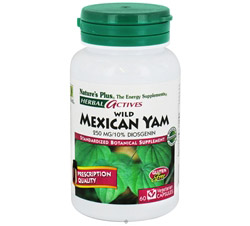 Herbal Actives Wild Mexican Yam 250 mg.