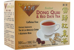 Instant Dong Quai & Red Date Tea Caffeine Free CLEARANCE PRICED