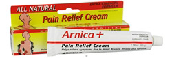Arnica+ Pain Relief Cream All Natural Extra Strength Formula