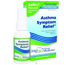 Homeopathic Natural Medicine Asthma Symptom Relief formerly Asthma Free...