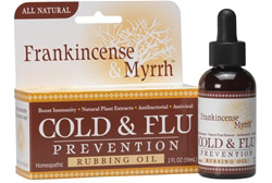 All Natural Cold & Flu Prevention Rubbing Oil