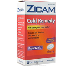 Cold Remedy Rapid Melts Cherry