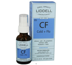 CF Cold + Flu Homeopathic Oral Spray