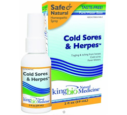 Homeopathic Natural Medicine Cold Sores & Herpes