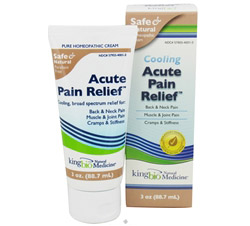 Cooling Acute Pain Relief Homeopathic Cream