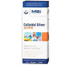 Colloidal Silver Homeopathic Immune Defense 30 Ppm