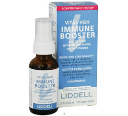 Vital HGH Immune Booster with HGH and Echinacea Homeopathic Oral Spray