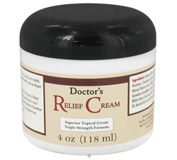 Doctor's Relief Cream Triple Strength Formula formerly Doctor's Fibromyalgia Cream