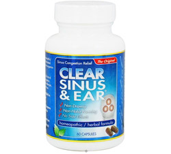 Clear Sinus & Ear Homeopathic/Herbal Relief Formula