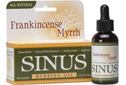 All Natural Sinus Rubbing Oil