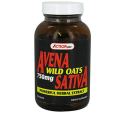 Avena Sativa Wild Oats 750 mg. with Oat Straw Extract