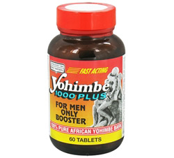 Yohimbe 1000 Plus For Men Only Booster