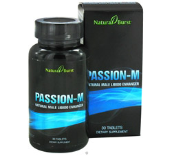 Passion-M Natural Male Libido Enhancer (Formerly Natural Burst)