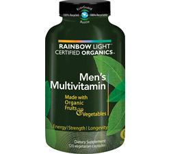 Certified Organics Men's Multivitamin