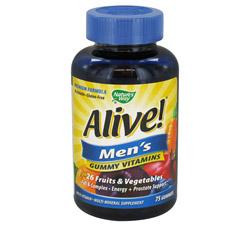 Alive Men's Gummy Vitamins