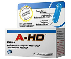 A-HD Ultra-Concentrated Testosterone Booster Large Size 250 mg.