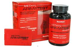 Methyl Arimatest Formula 1 - 120 Capsules & Formula 2 - 60 SubZorb Tablets