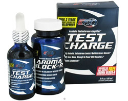 Test Charge Anabolic Testosterone Amplifier Includes 30 day supply Aroma Block-R