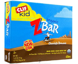 Kid Z-Bar Organic Chocolate Brownie