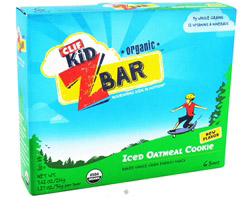 Kid Z-Bar Organic Iced Oatmeal Cookie