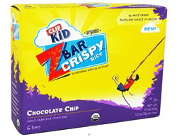 Kid Z-Bar Organic Crispy Rice Chocolate Chip