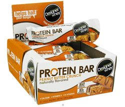 Designer Whey Protein Bar Peanut Butter Crunch CLEARANCE PRICED