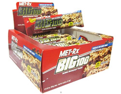 Big 100 Meal Replacement Bar Chocolate Chip Cookie Dough