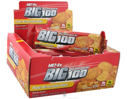 Big 100 Meal Replacement Bar Peanut Butter Cookie Dough