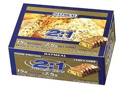 2:1 Protein Bar Oatmeal