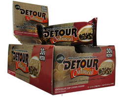 Detour Oatmeal Whey Protein Bar Chocolate Chip Cookie Dough