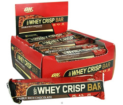 100% Whey Crisp Bar Double Rich Chocolate