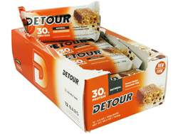 Detour Oatmeal Whey Protein Bar Peanut Butter Chocolate Chip