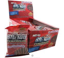 Big 100 Colossal Protein Brownie Bar Super Chocolate Fudge