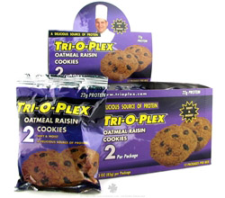 Tri-O-Plex Cookies Oatmeal Raisin