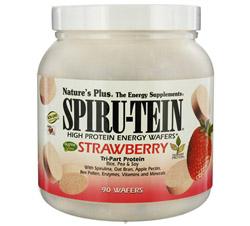 Spiru-Tein High Protein Energy WAFERS Strawberry