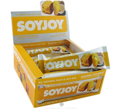 All Natural Fruit & Soy Bar Mango Coconut