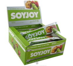 All Natural Fruit & Soy Bar Apple