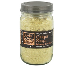 Bath Salts Releasing Ginger Snap