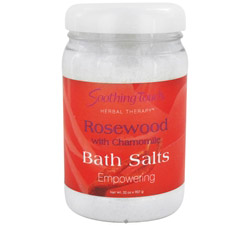 Bath Salts Empowering Rosewood with Chamomile
