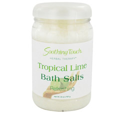 Bath Salts Refreshing Tropical Lime