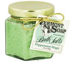 Bath Salts Aromatherapy Peppermint Magic