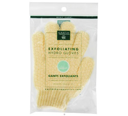 Exfoliating Hydro Gloves Natural