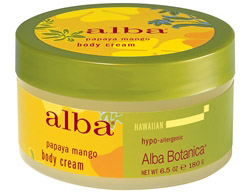 Alba Hawaiian Body Cream Papaya Mango