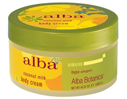Alba Hawaiian Body Cream Coconut Milk