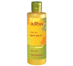 Alba Hawaiian Organic Body Oil Kukui Nut