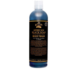 Body Wash African Black Soap