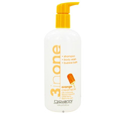 3 in One Shampoo, Bodywash and Bubblebath Orange Creamsicle DAILY DEAL